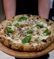 Porcini e salsiccia (Pizzeria Marghe, P.ta Romana M3, Milano)