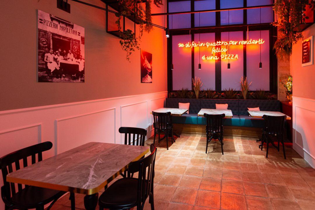 Dettaglio Sala (L'Antica Pizzeria Da Michele Palermo)