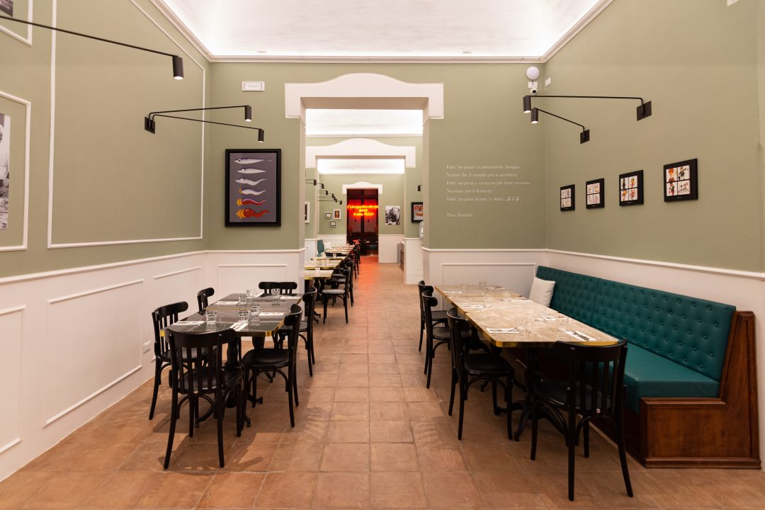 Sala (L'Antica Pizzeria Da Michele Palermo)