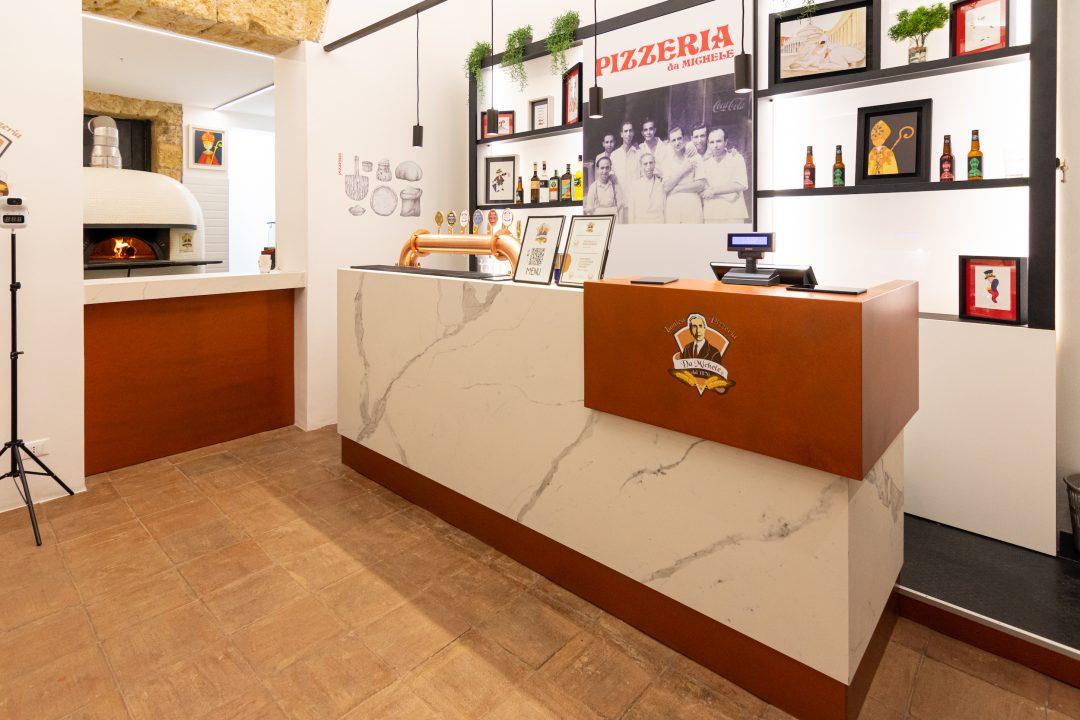 Bancone (L'Antica Pizzeria Da Michele Palermo)