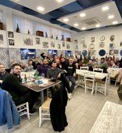 Foto di gruppo (Pizzeria Porzio, Soccavo, Napoli)