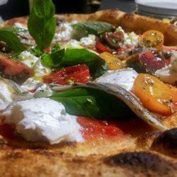 Pomodorino e alici (Pizzeria Pro Loco Pinciano, Parioli/Pinciano (II), Roma)