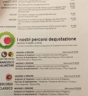Menu (Francesco & Salvatore Salvo, Chiaia, Napoli)