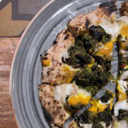 Friarielli e zucca (Pizzeria Crosta, Palestro M1, Milano)