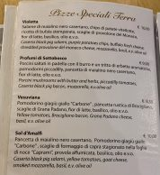 Menu3 (Pizzeria Divina Vietri, Vietri Sul Mare, Salerno)