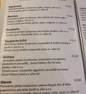 Menu7 (Pizzeria Divina Vietri, Vietri Sul Mare, Salerno)