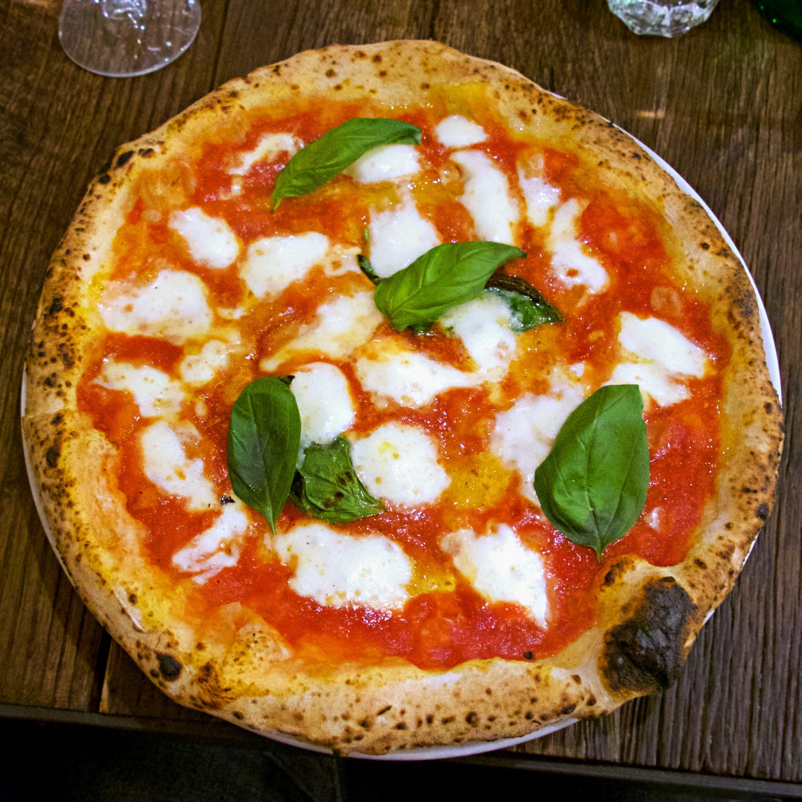 Margherita (Pizzeria Marghe, P.ta Romana M3, Milano)