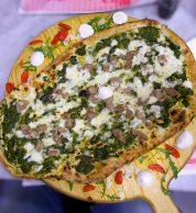 Salsiccia e friarelli (Pizzeria Da Oliva - Carla e Salvatore, Stella, Napoli)