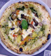 Salsiccia (Pizzeria Casa Giglio Pizze d'Autore, Acerra, Napoli)