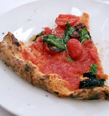 Pizza al pomodoro (Francesco & Salvatore Salvo, Chiaia, Napoli)