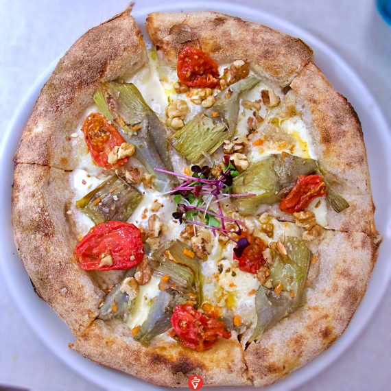 La Carciofo (Pizzeria Saporè, San Martino Buon Albergo, Verona)