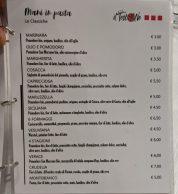 Menu (Pizzeria Il Testone, Avellino)