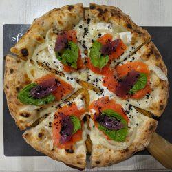 Salmone (Pizzeria Il Segreto di Pulcinella, Benevento)
