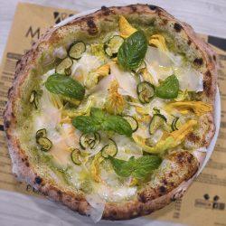Pizza Nerano (Pizzeria Materia, Cellole, Caserta)