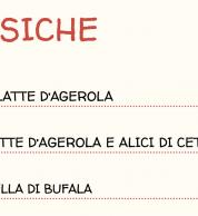 menu1 (Pizzeria Pizzium, Lima (M1) Repubblica (M3), Milano)