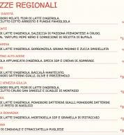 menu2 (Pizzeria Pizzium, Lima (M1) Repubblica (M3), Milano)