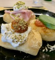 Tris di Montanarine (Pizzeria Materia, Cellole, Caserta)