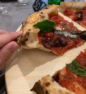 Dettaglio spicchio (Pizzeria Pucci e Manella, Latina)