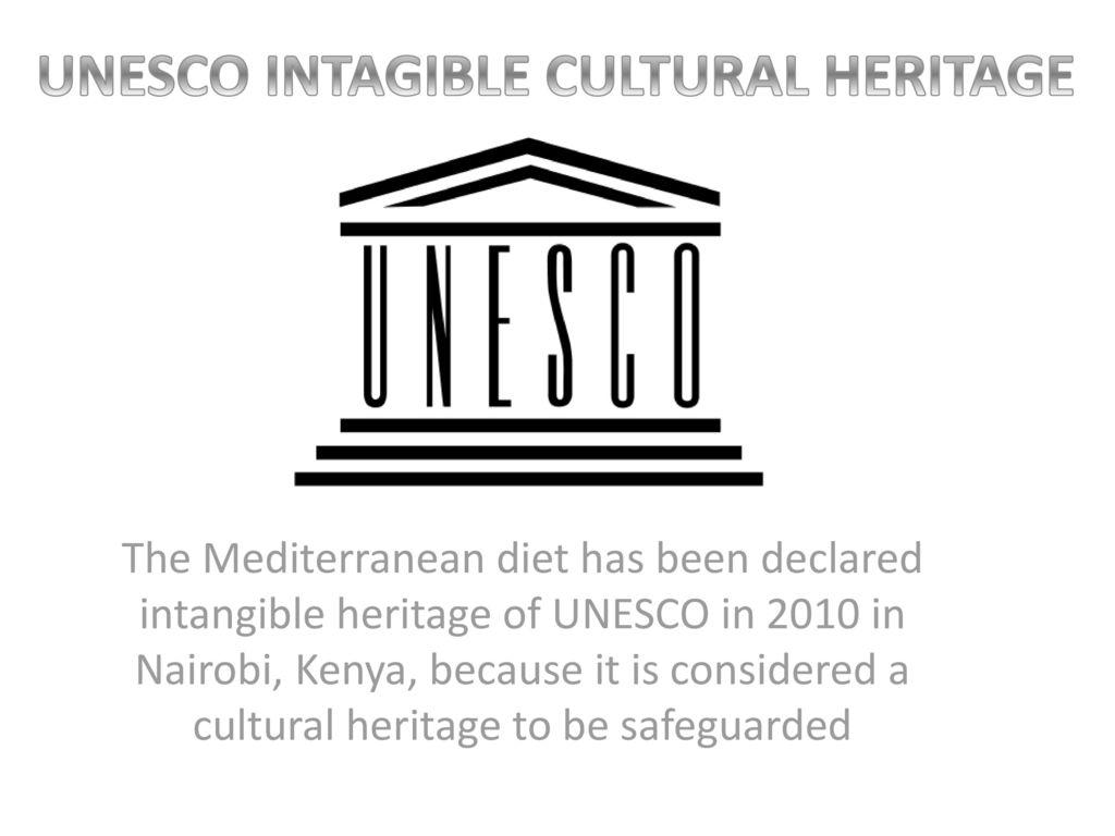 La Dieta Mediterranea è patrimonio UNESCO