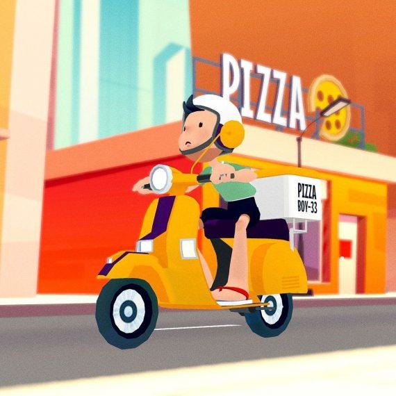 pizza covid