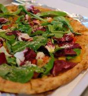 Pizza rucola (Pizzeria Al Camino, Kyoto)