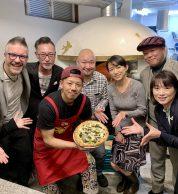Tanzen e pizza (Pizzeria Oppla'! Da Gtalia, Nerima City, Tokyo)