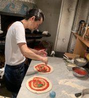Preparazione (Pizzeria Il Tamburello, Chuo, Tokyo)