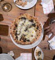 Pizza Tartufo (Pizzeria Il Tamburello, Chuo, Tokyo)