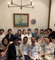 Foto di gruppo (Pizzeria Il Tamburello, Chuo, Tokyo)