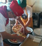 Pizza da asporto (Pizzeria Sakuragumi, Ako)