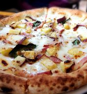 pizza bianca (pizzeria 21, Shunan)