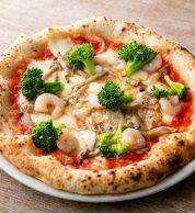 Pizza gamberetti (pizzeria 347, Funabashi)