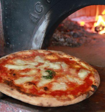 Pizza Margherita (Pizzeria Sakuragumi, Ako)
