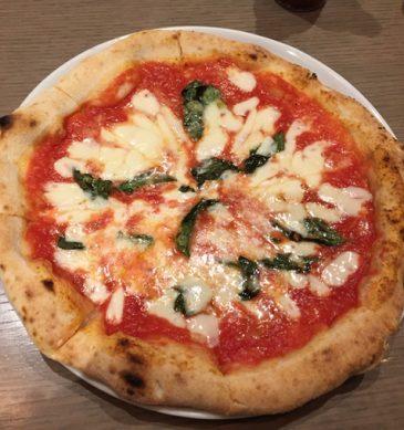 Pizza margherita (Il Pinolo Pizza Bar, Fujimi)