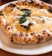 Pizza quattro formaggi (Lacco Ameno, Odawara)