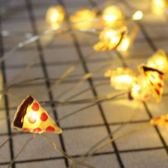 luci led pizza