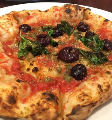 Pizza marinara (Pizzeria Vento e Mare, Niigata)