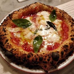Margherita (Pizzeria Popolare, Bourse, Parigi)