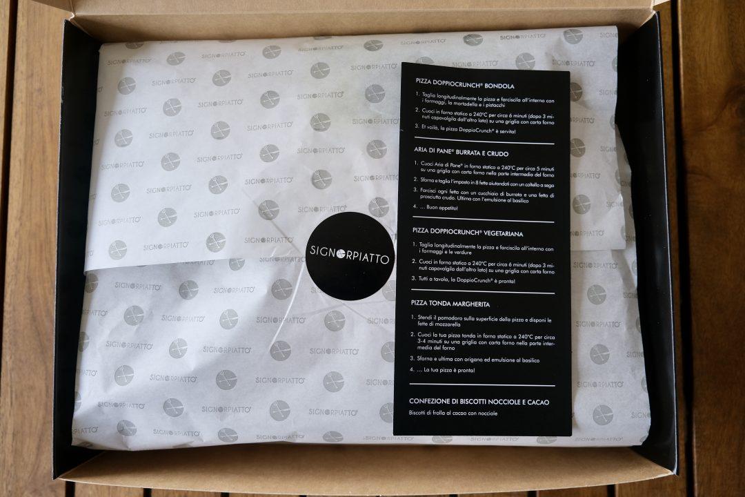 Istruzioni Pizza Box by Renato Bosco