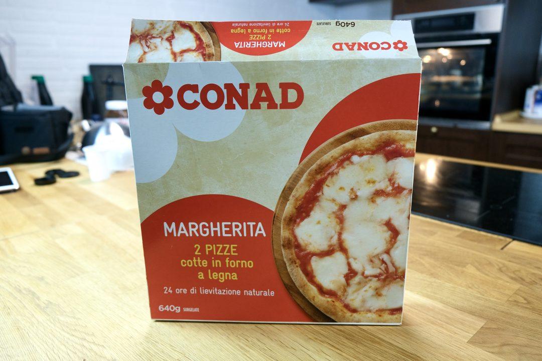 Pizza Surgelata Conad, confezione