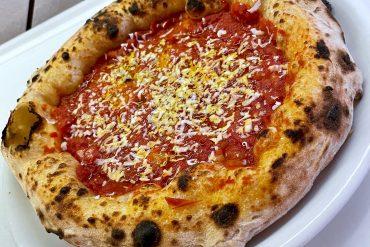La prima pizza realizzata
