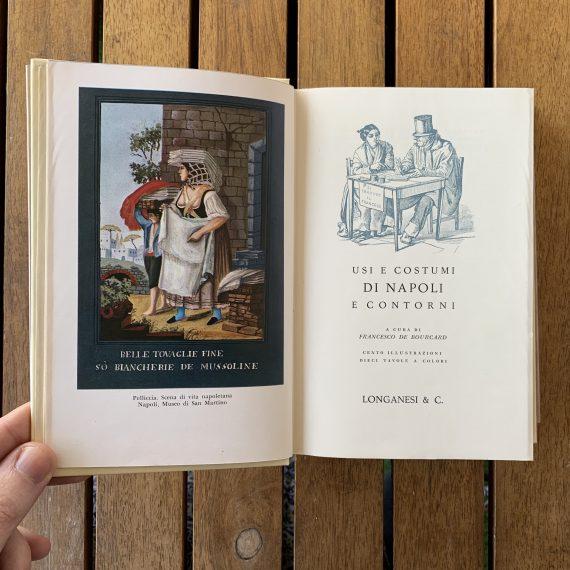 Usi e costumi di Napoli e contorni di Francesco de Bourcard