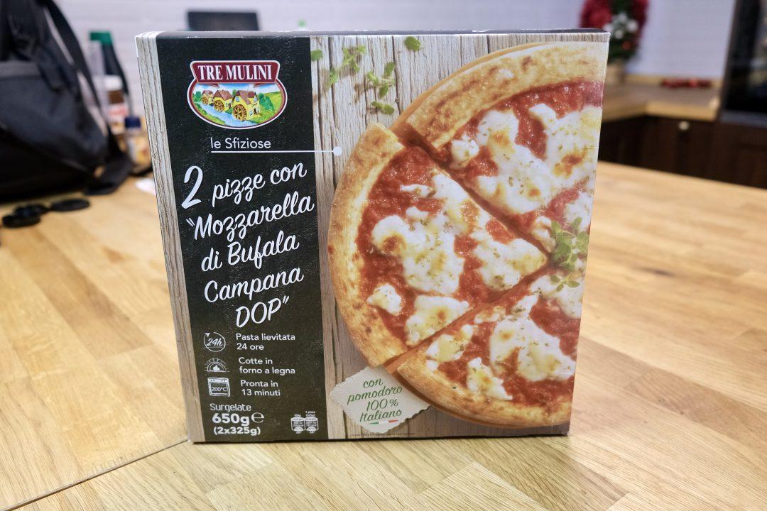 Pizza Surgelata Tre Milini, fronte