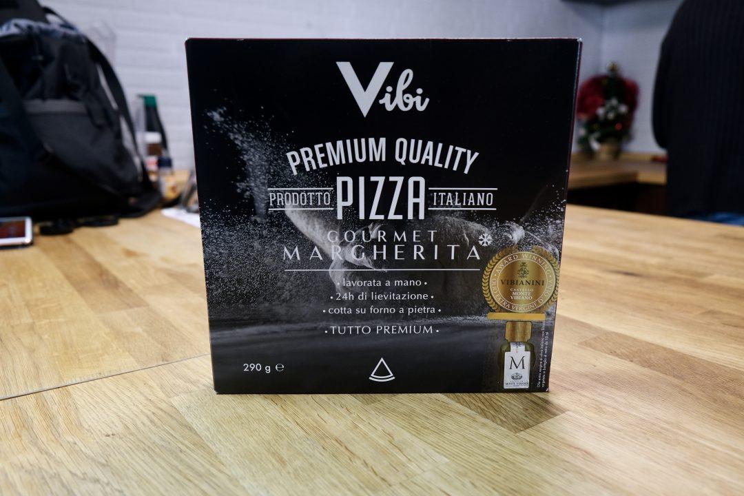 Pizza Surgelata Vibi Premium, confezione
