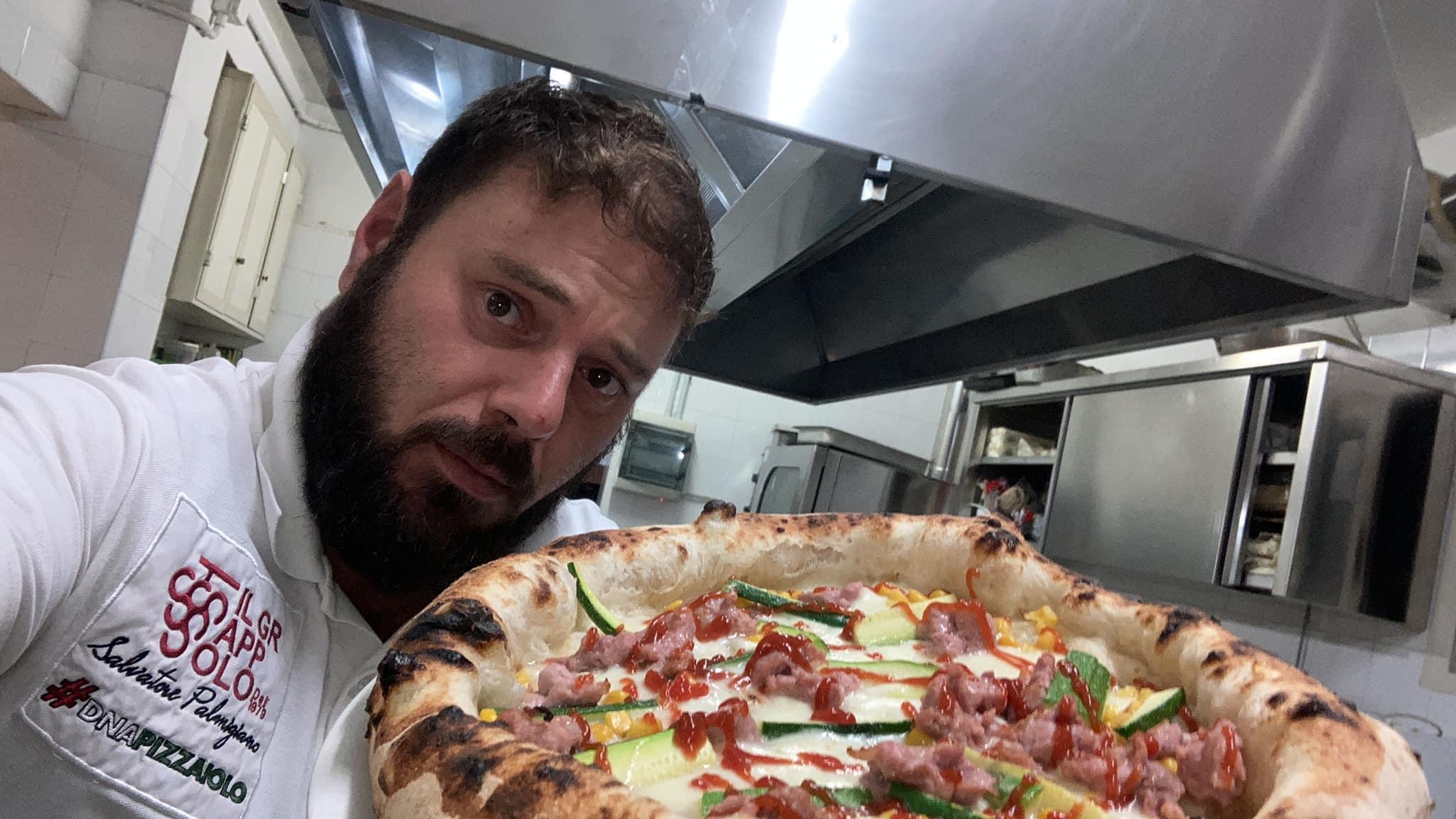 Salvatore Palmigiano Pizza Sanremo 2021