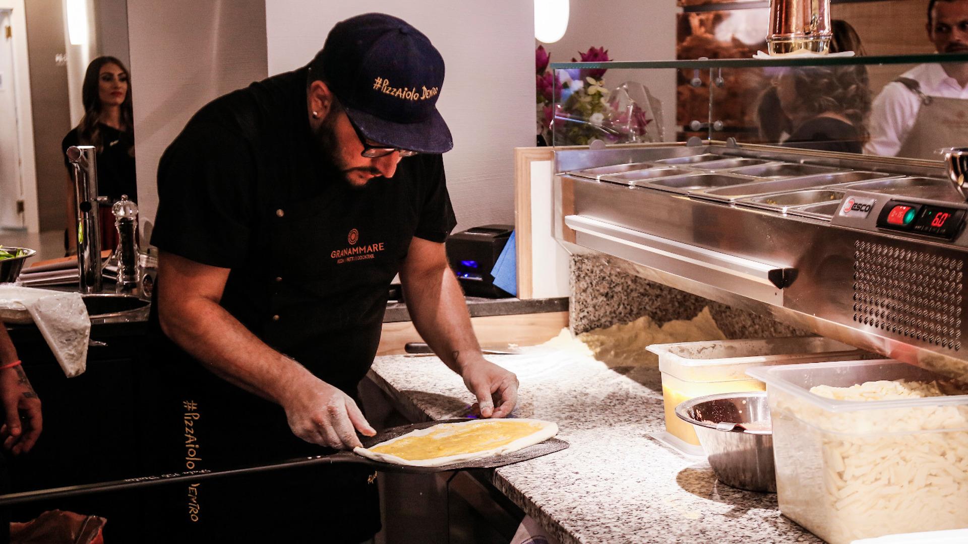Alfonso Saviello Pizza Sanremo 2021