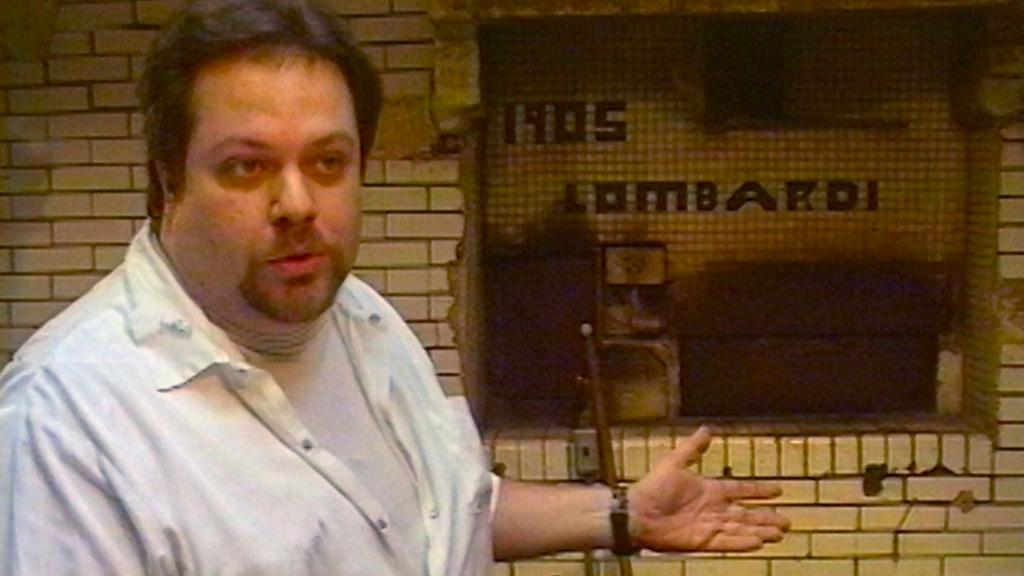 Andrew Bellucci e il forno di Lombardi's