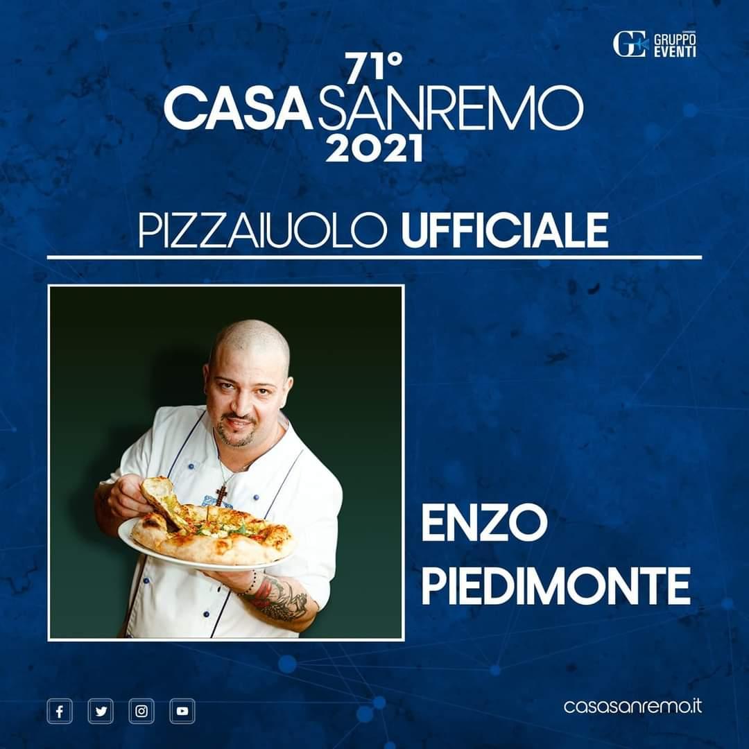 Enzo Piedimonte Pizza Sanremo 2021