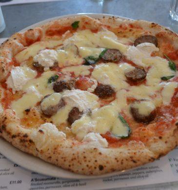 Pizza (Figli del Vesuvio, Wandsworth, Londra)