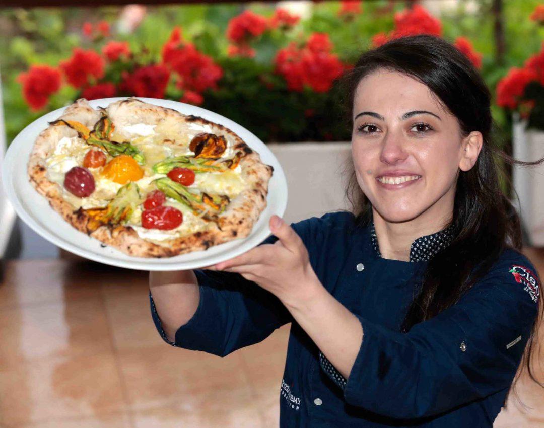 Giorgia Caporuscio, pizzaiola